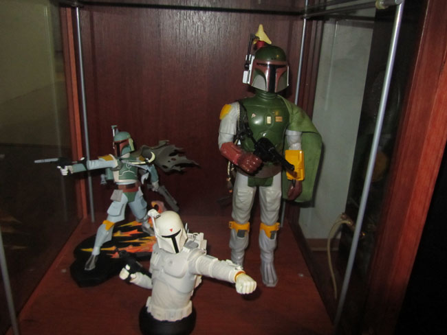 TheGoodDr's Customized Ikea Detolf Shelf DetolfBobaFett